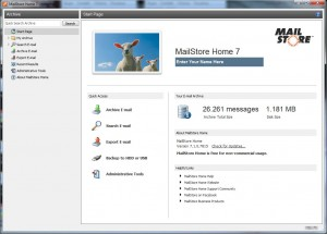 MailStore: il backup email