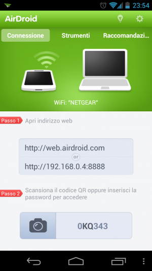 AirDroid: l'app su Android