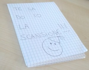 Te la do io la scansione!!!