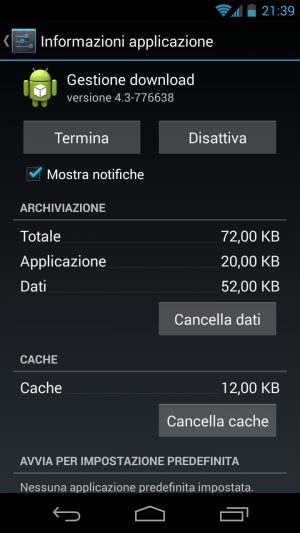 Gestione Download (Android)