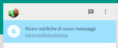 WhatsApp: Notifiche Desktop