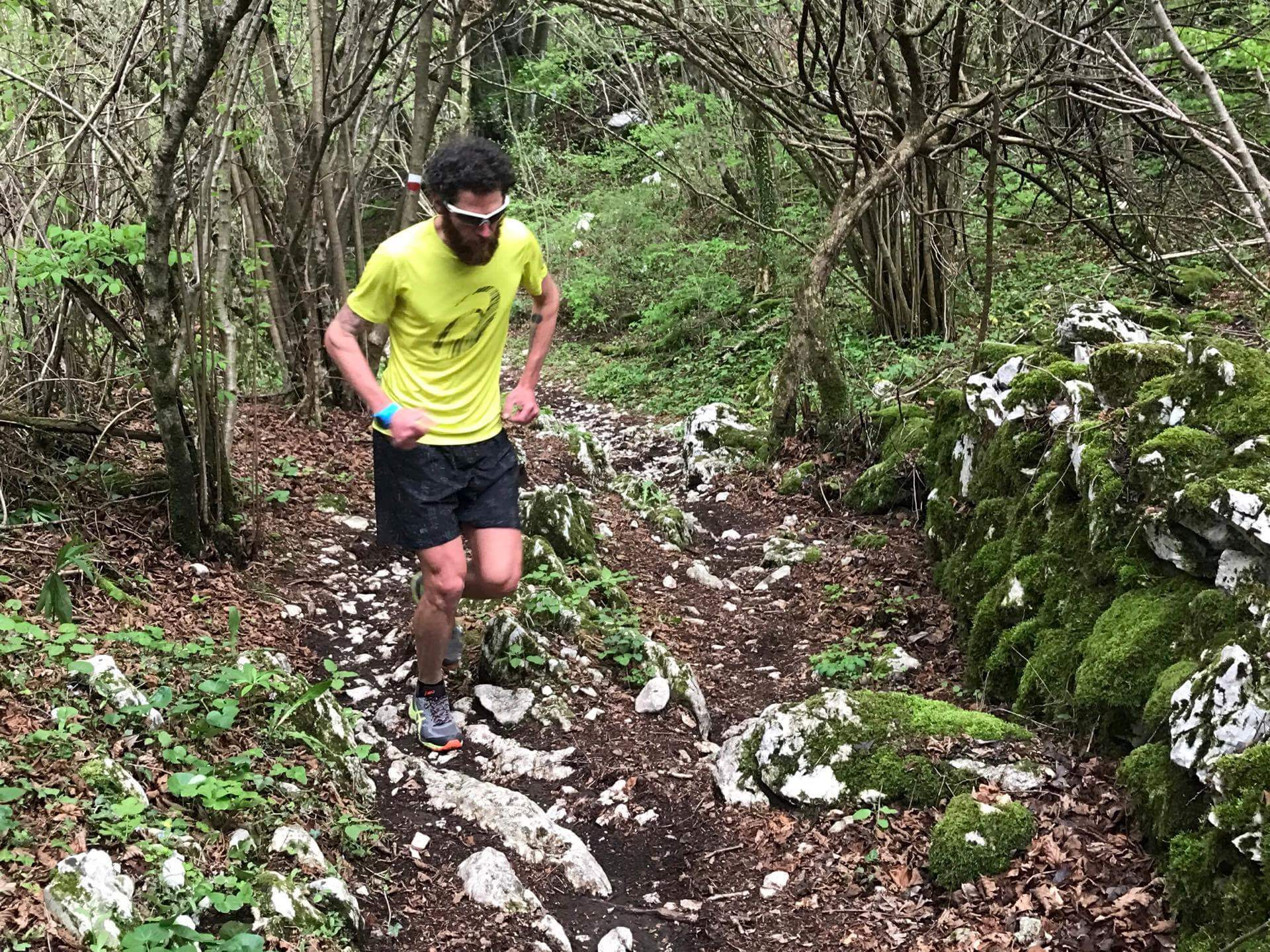 Daniele Cesconetto in trail